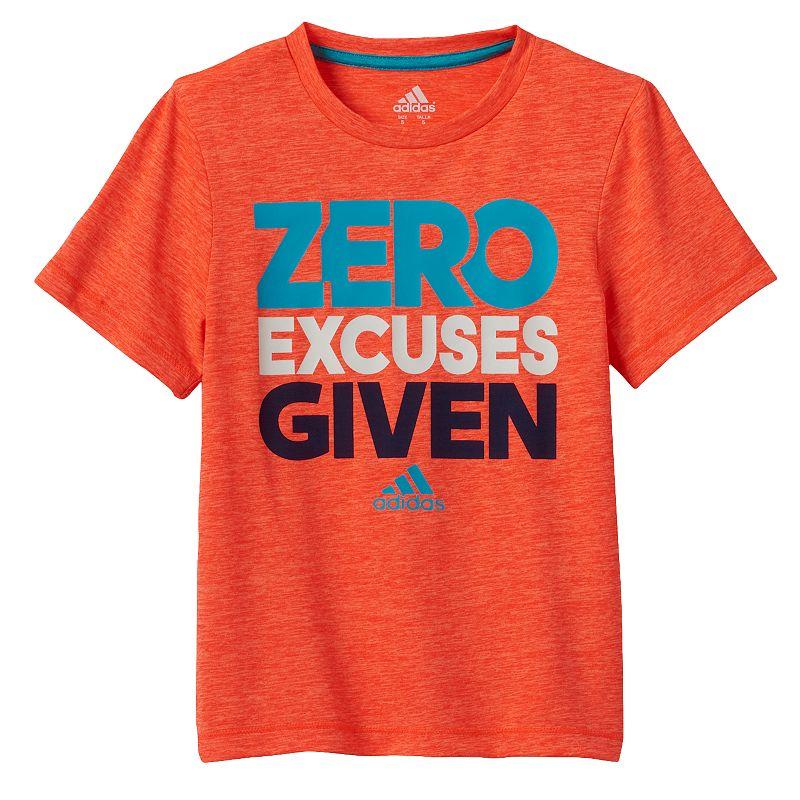 Toddler Boy adidas climalite Space-Dye Zero Excuses Tee