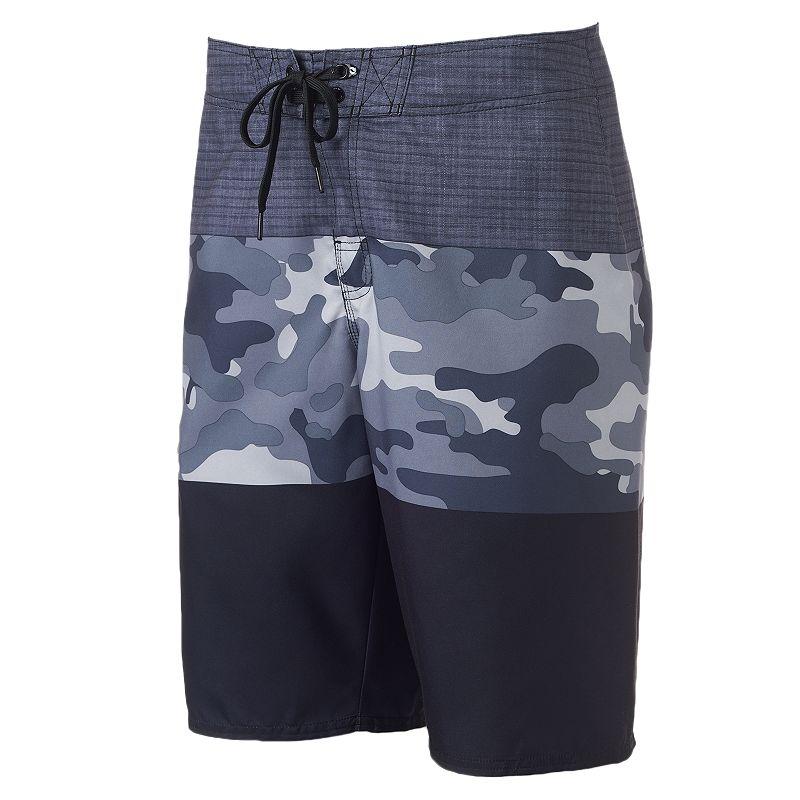 Men's Hang Ten Camouflage Stretch Cargo Board Shorts