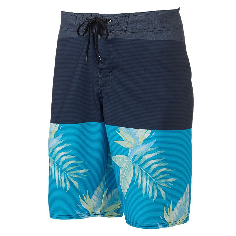Men's Hang Ten Blue Wave Stretch Cargo Board Shorts