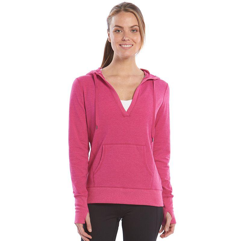 Women's Tek Gear® V-Neck Yoga Hoodie