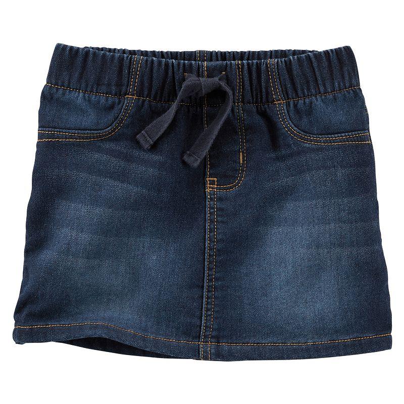 Girls 4-6x OshKosh B'gosh® Faux-Kint Pull-On Denim Skirt