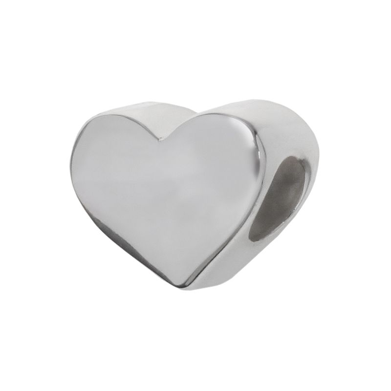 Individuality Beads Sterling Silver Heart Bead