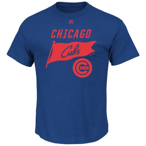 Men's Majestic Chicago Cubs Again Next Year Tee