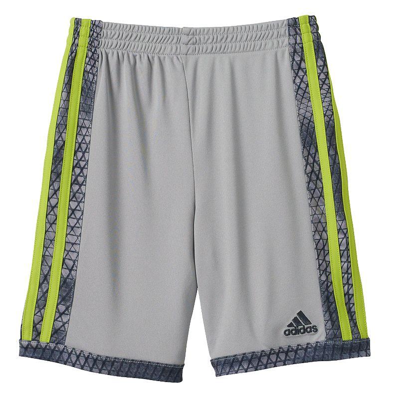 Toddler Boy adidas Striped Mesh Shorts