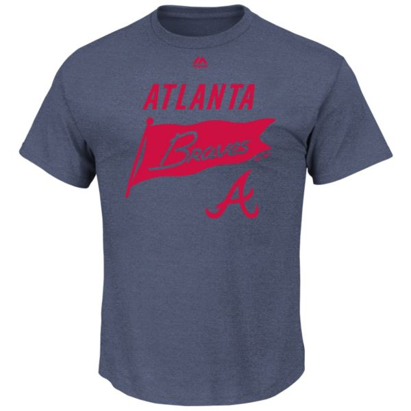 Men's Majestic Atlanta Braves Again Next Year Tee