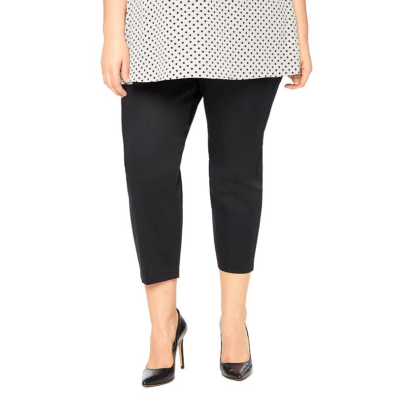Plus Size Maternity Oh Baby by Motherhood™ Secret Fit Belly™ Slim-Fit Ankle Pants