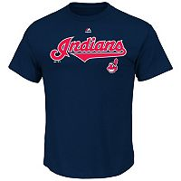 Men's Majestic Cleveland Indians Series Sweep Tee