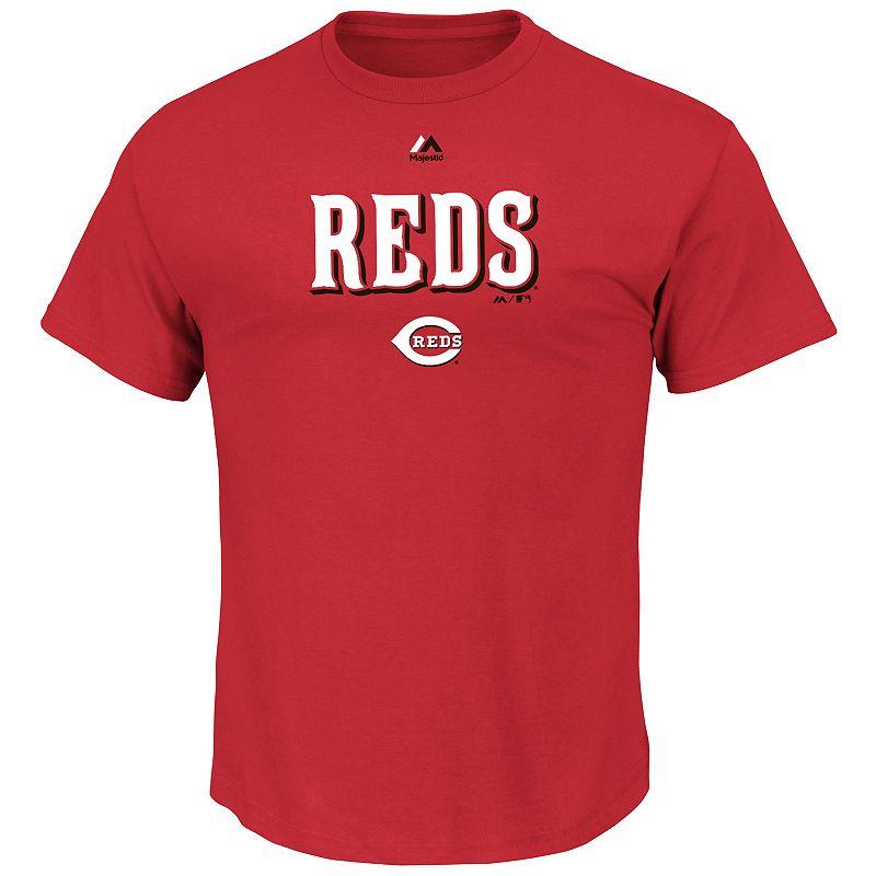 Men's Majestic Cincinnati Reds Series Sweep Tee