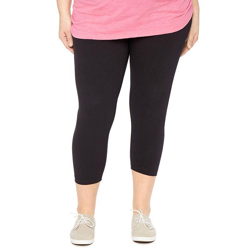 Plus Size Maternity Oh Baby by Motherhood™ Secret Fit Belly™ Crop Leggings