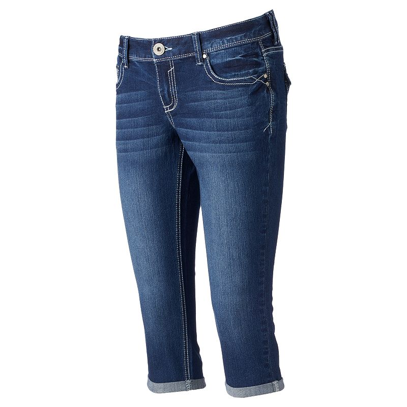 Juniors Series 31 Denim Capris