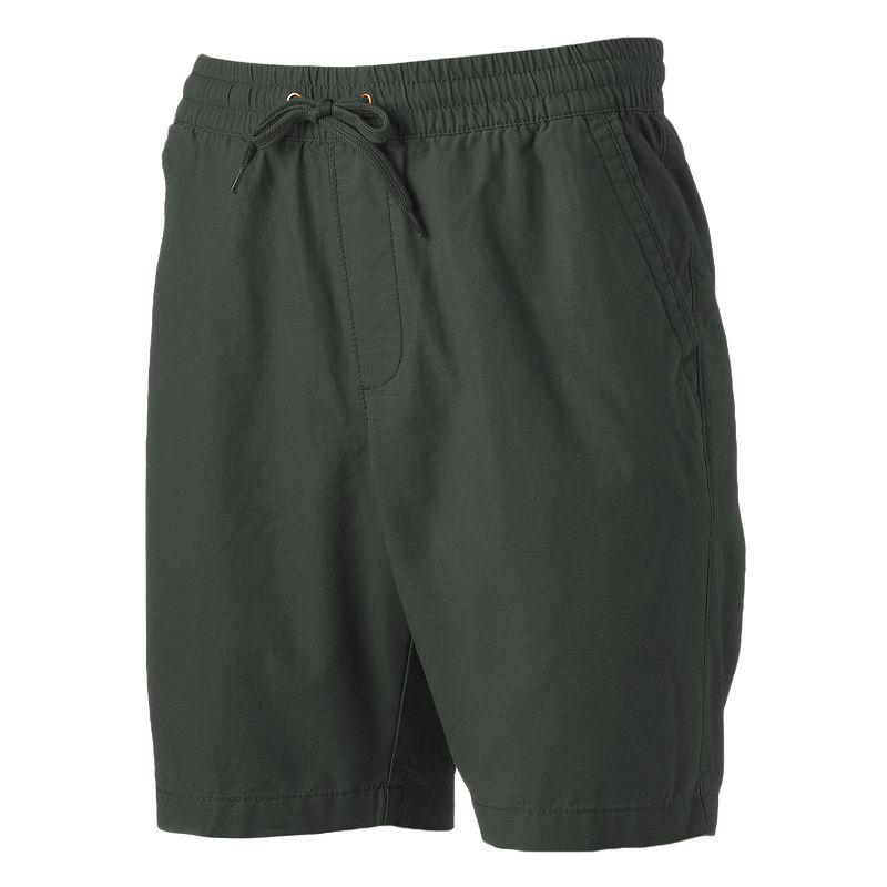 Men's SONOMA Goods for Life™ Slubbed Elastic Canvas Shorts