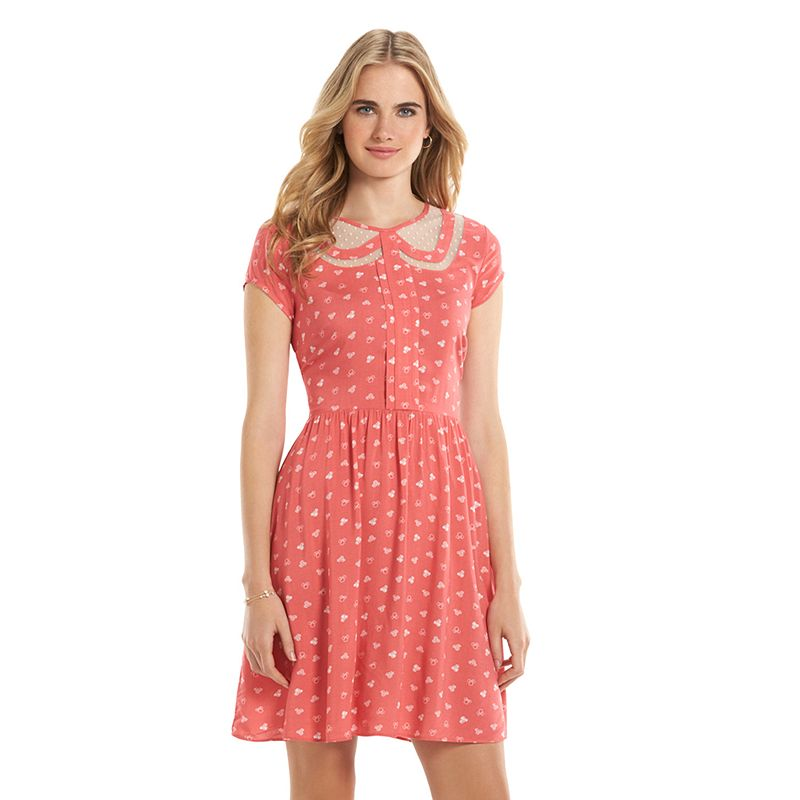 Disney's Minnie Rocks the Dots a Collection by LC Lauren Conrad Fit & Flare Dress - Women's