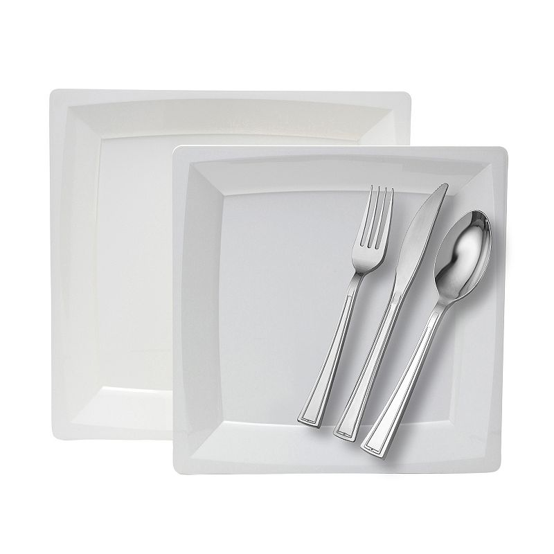 WNA Dinner For Eight 40-pc. Square Dinnerware Set
