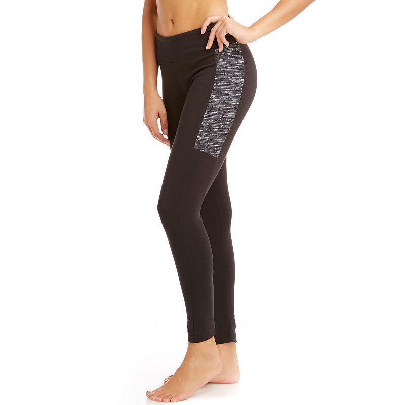 Women's Bally Total Fitness Printed Slice Workout Leggings