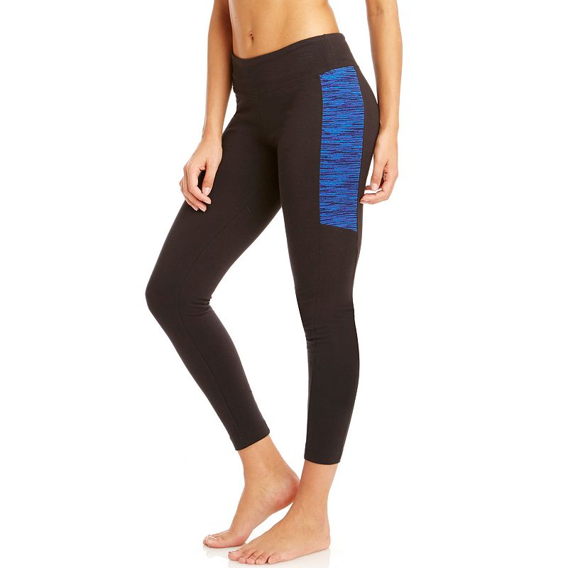 Women's Bally Total Fitness Printed Slice Workout Leggings