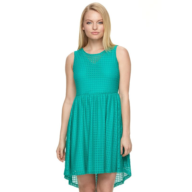 Petite Apt. 9® Lace Fit & Flare Dress