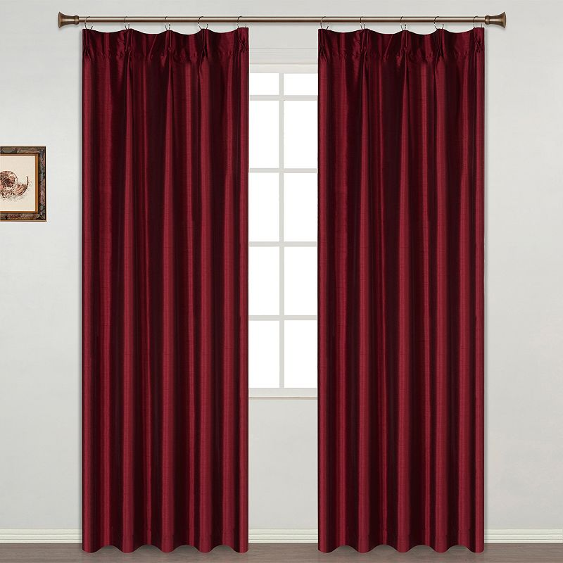 United Curtain Co. Anna Pinch-Pleat 2-pack Curtains