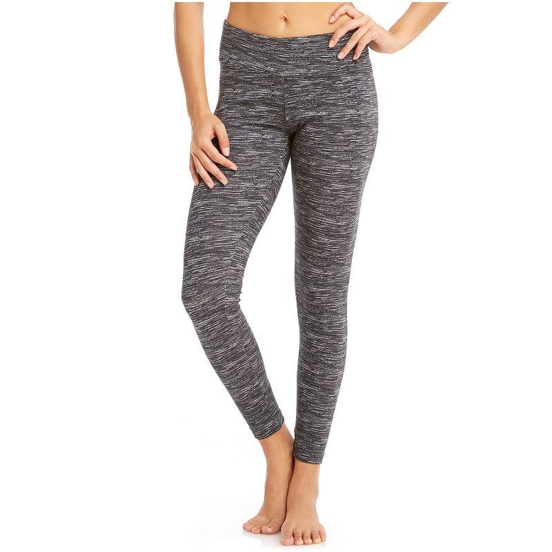 Women's Bally Total Fitness Space-Dye Workout Leggings