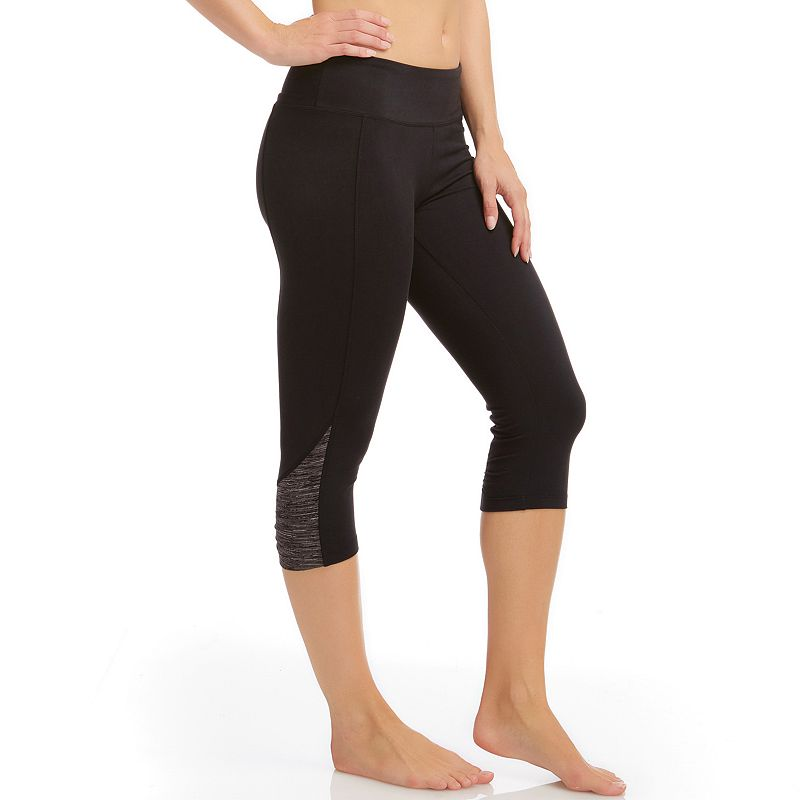 Women's Bally Total Fitness Capri Workout Leggings