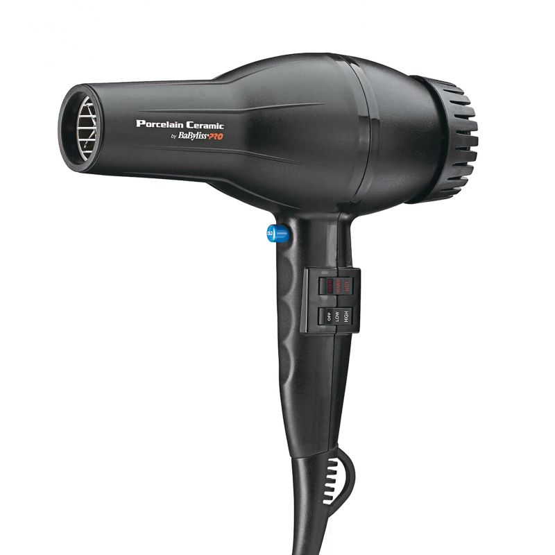 BaByliss Pro Porcelain Ceramic 2800 Hair Dryer, Multicolor