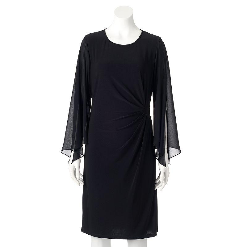 Women's MSK Pleated Shift Dress