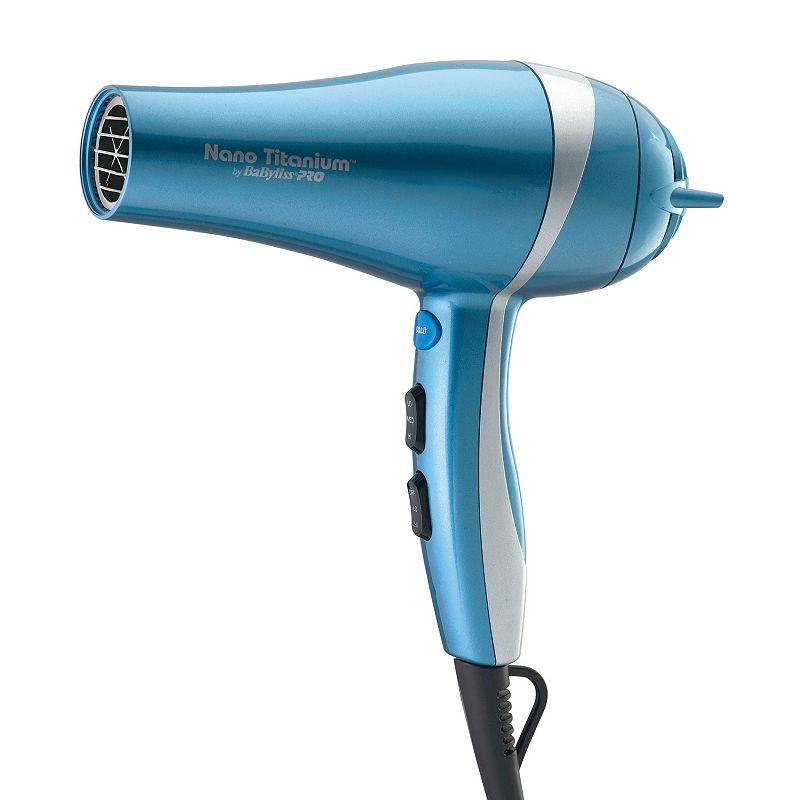 BaByliss Pro Nano Titanium Hair Dryer, Multicolor