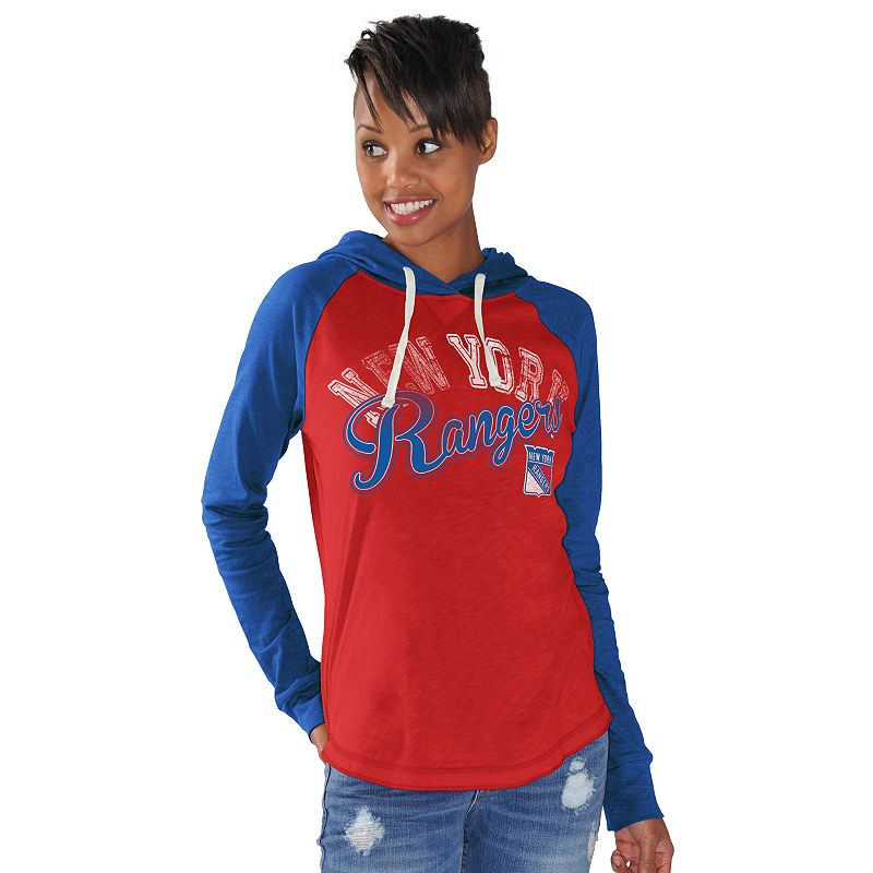 Women's New York Rangers Pump Fake Hoodie