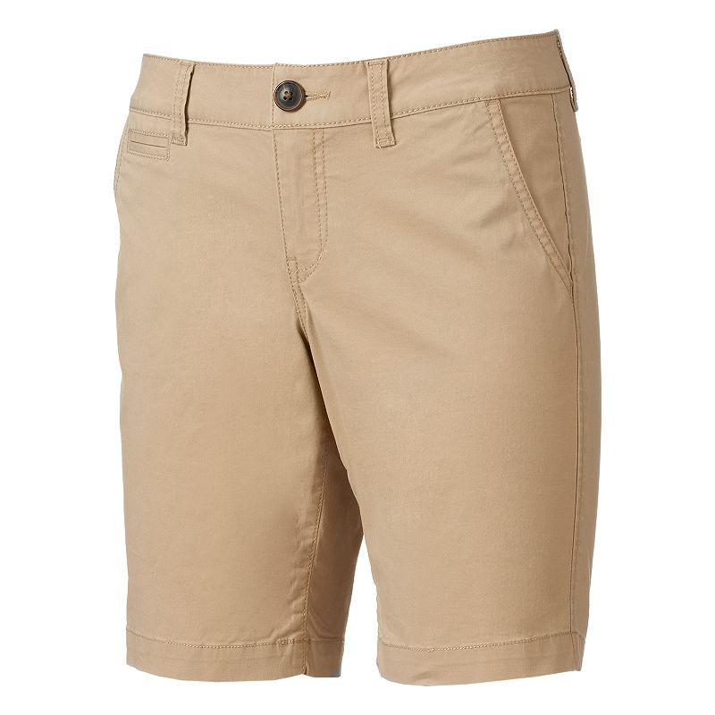 Juniors' SO® Welt Pocket Bermuda Shorts