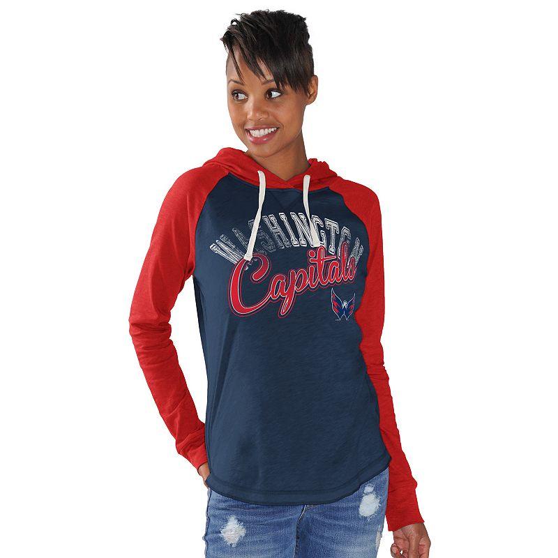 Women's Washington Capitals Pump Fake Hoodie