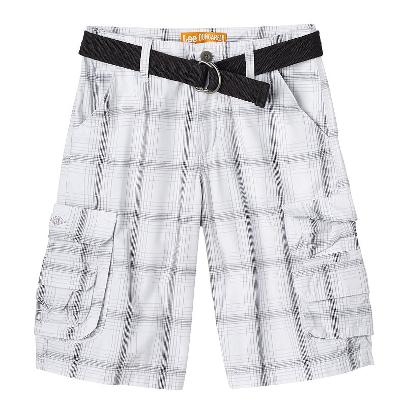 Boys 8-20 Lee Dungarees Wyoming Belted Shorts