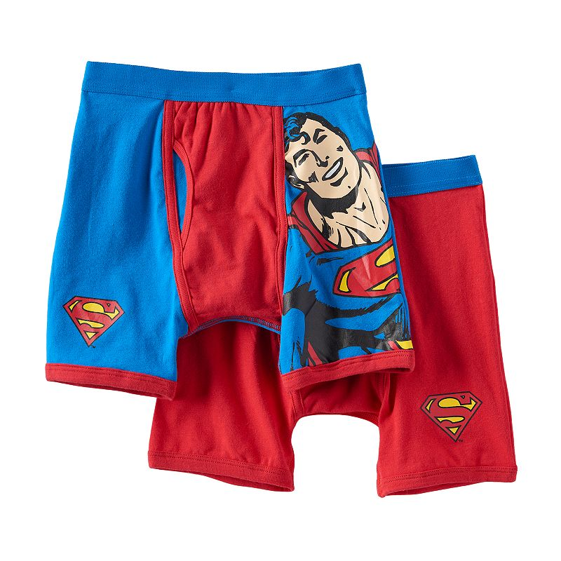 Boys 8-20 Superman 2-pack Boxer Briefs