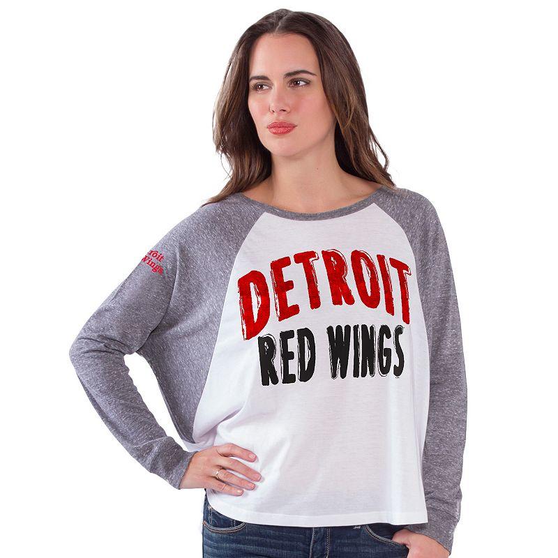 Women's Detroit Red Wings Triple A Top