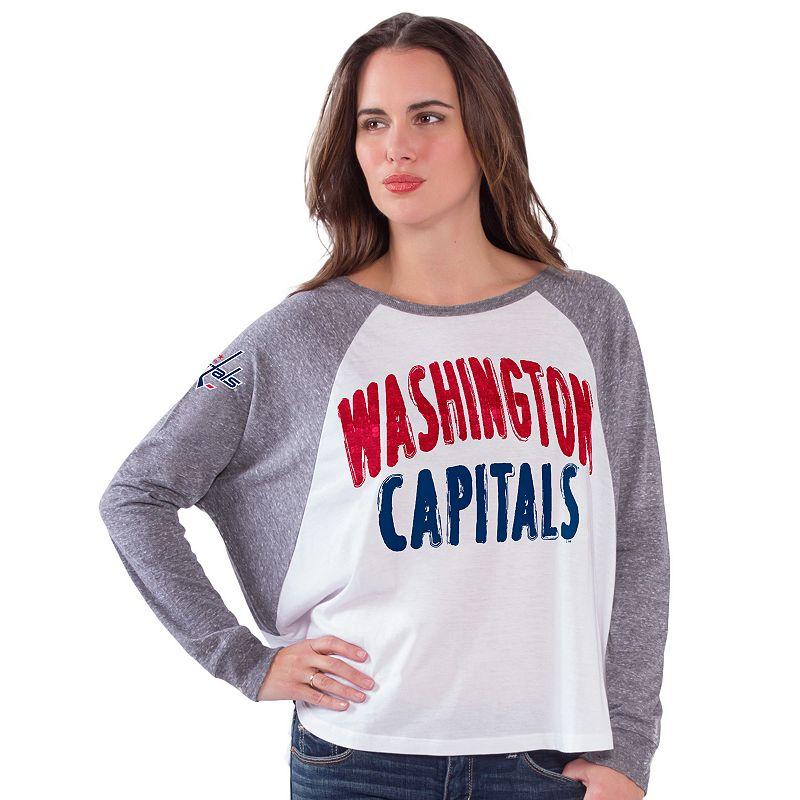 Women's Washington Capitals Triple A Top