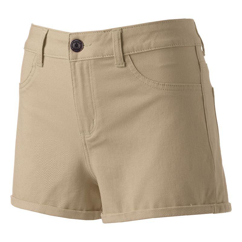 Juniors' SO® High-Waisted Shortie Shorts