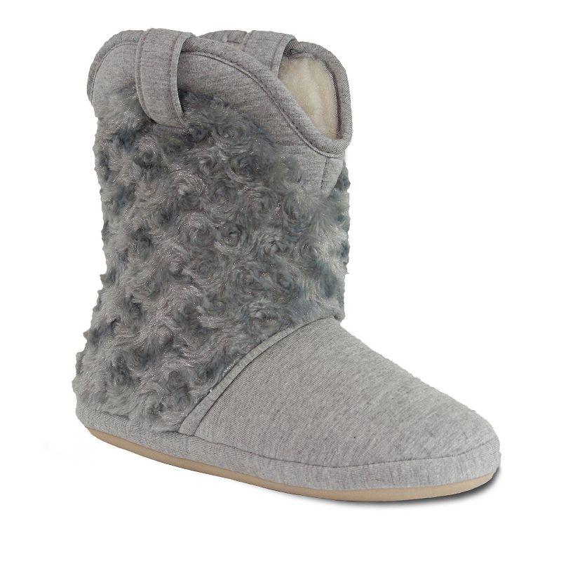 Cicciabella Faux Chinchilla Women's Boot Slippers