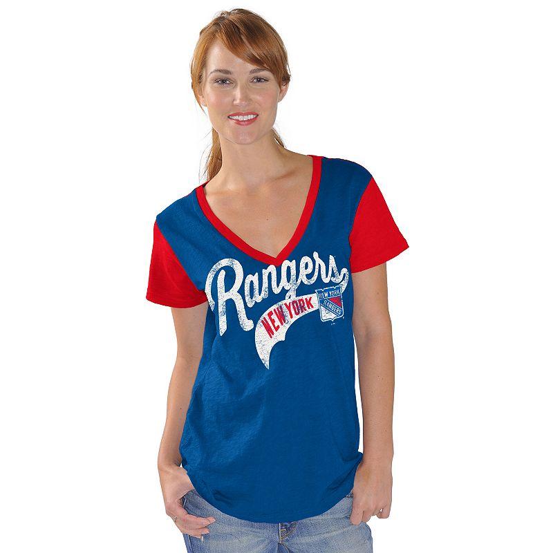 Women's New York Rangers Fair Catch Tee