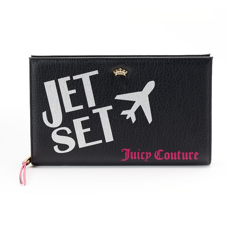 Juicy Couture Glitter ''Jet Set'' Portfolio Wallet