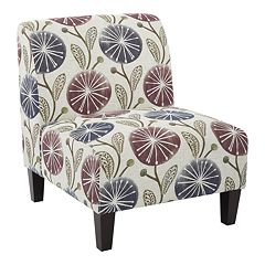 Ave Six Magnolia Accent Chair  by