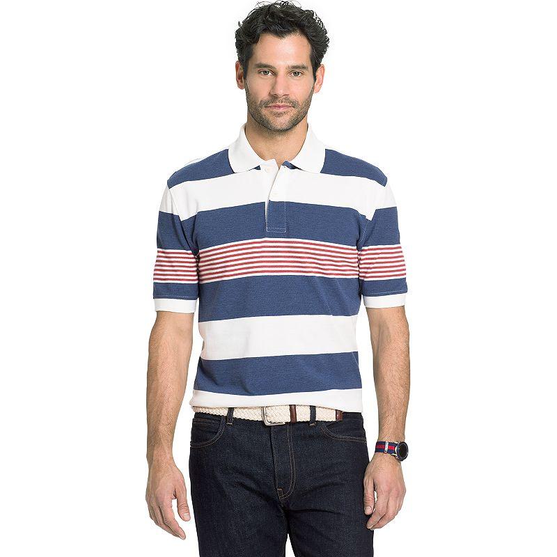 Big & Tall Arrow Classic-Fit Striped Polo