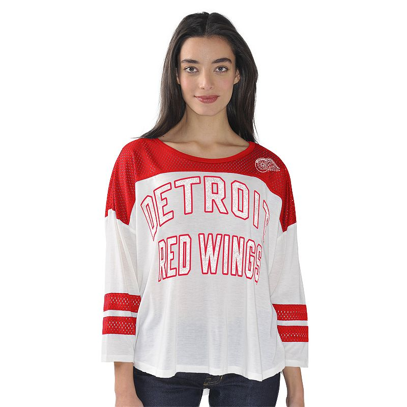 Women's Detroit Red Wings Hail Mary Top
