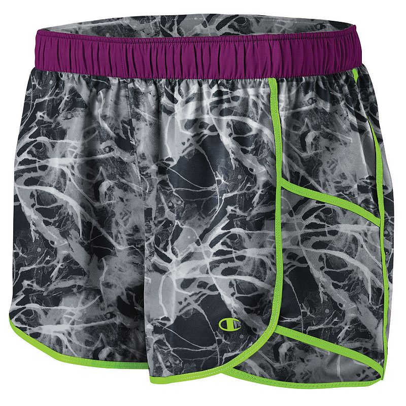 Women's Champion Sport 4 Printed Double Dry Woven Running Shorts