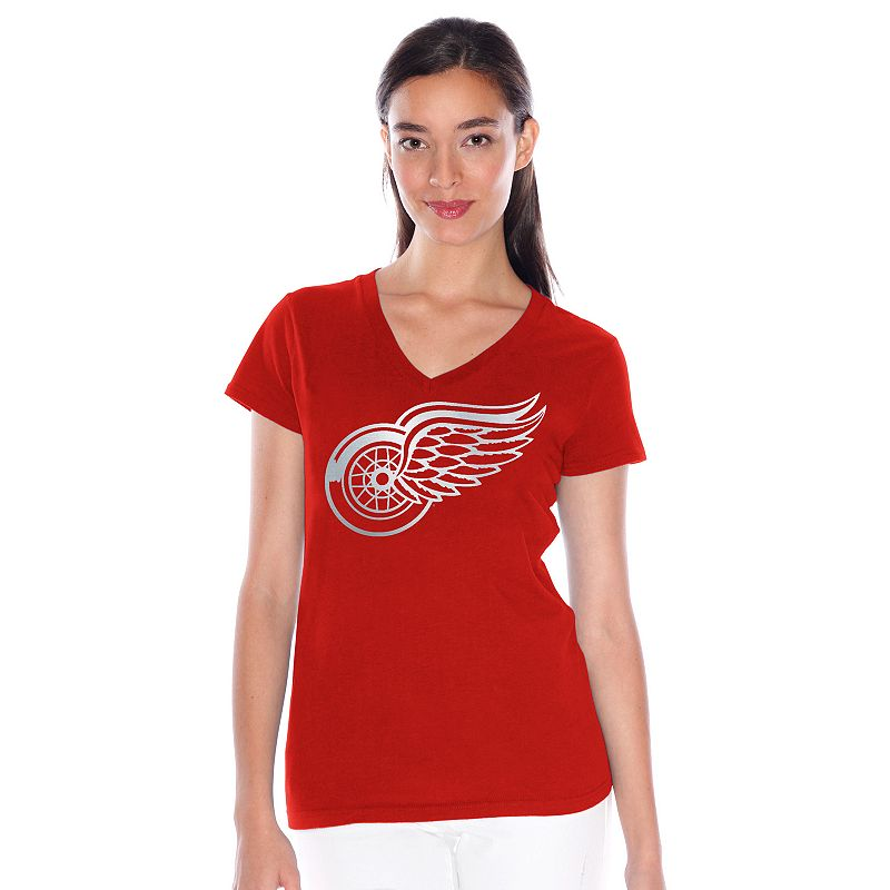 Women's Detroit Red Wings Play Action Tee