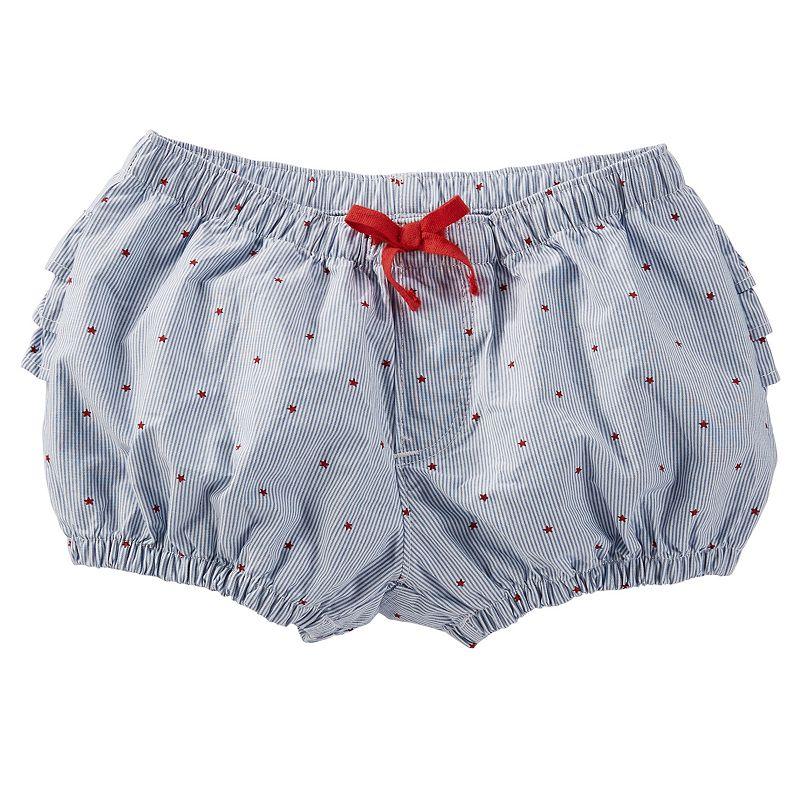 Baby Girl OshKosh B'gosh® Printed Stripe Bubble Shorts