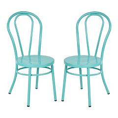 Ave Six Odessa Metal Dining Chair 2-piece Set by