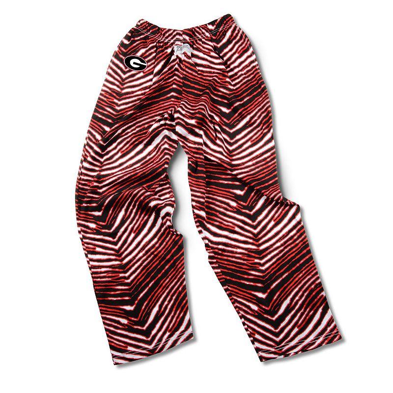 Men's Zubaz Georgia Bulldogs Athletic Pants