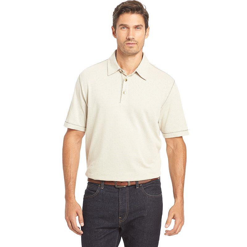 Big & Tall Van Heusen Classic-Fit Textured Slubbed Polo