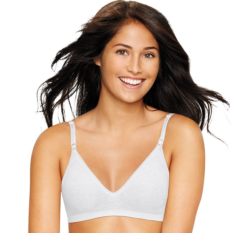 Hanes Ultimate Bra: Comfy Support Wire-Free T-Shirt Bra HU11