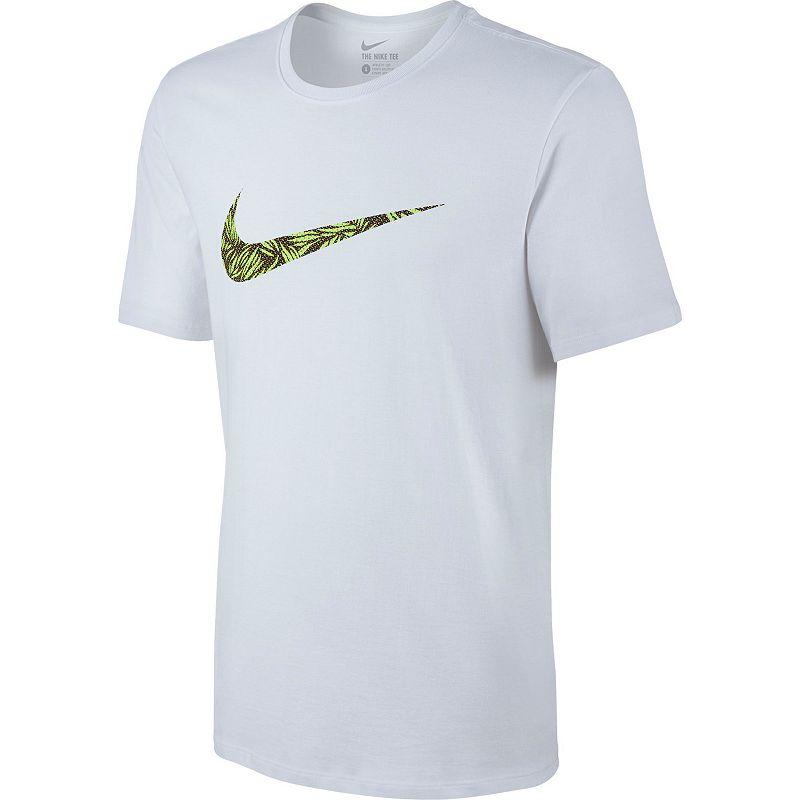 Men's Nike Palm Print Swoosh Tee