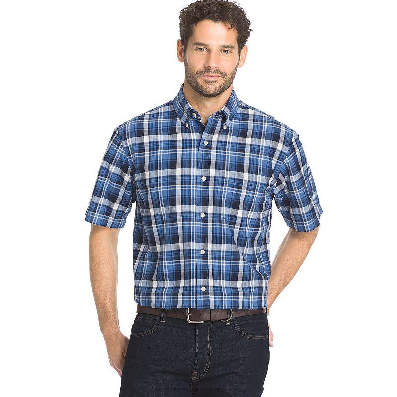 Big & Tall Arrow Sea Jack Classic-Fit Plaid Button-Down Shirt