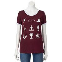 Juniors' Harry Potter Ringer T-Shirt